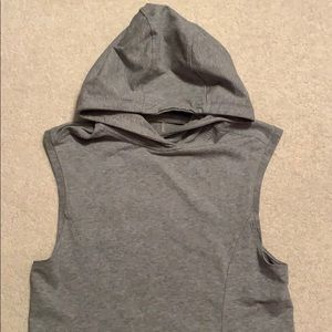Grey Cut Off Lululemon Sweatshirt